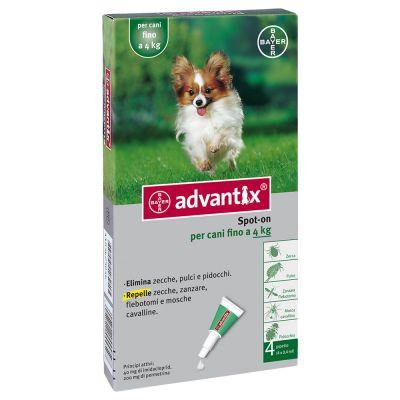 Advantix® Spot-on per cani fino a 4 kg