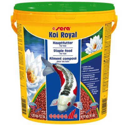 Aliment en granulés medium Sera Koi Royal