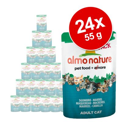 Almo Nature Green Label Raw 24 x 55 g