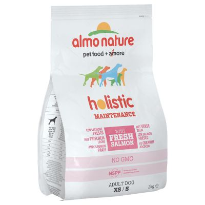 Almo Nature Holistic Dog Food - Small Adult Salmon & Rice