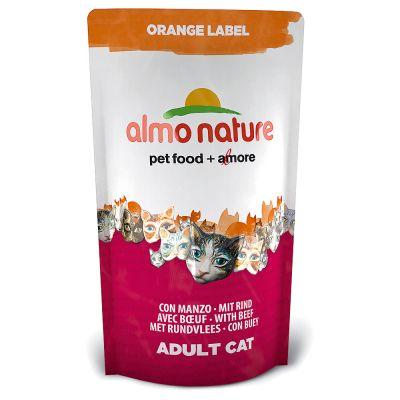 Almo Nature Orange Label Adult Manzo