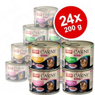 Animonda Carny Adult Gemengd Voordeelpakket 24 x 200 g