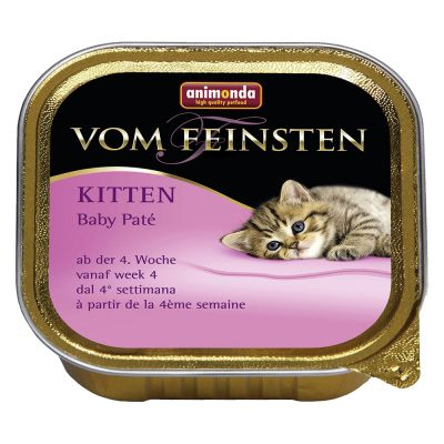 Animonda vom Feinsten Kitten Baby Paté, 6 x 100g