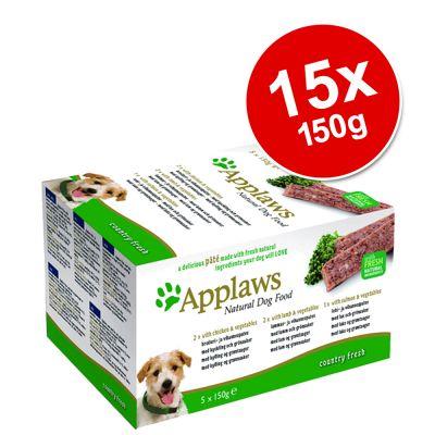 Applaws Dog Pâté Saver Pack 15 x 150g