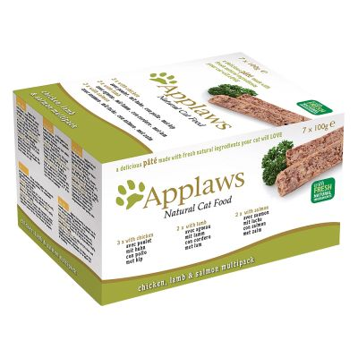 Applaws paté para gatos 7 x 100 g - Pack mixto