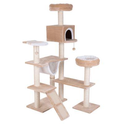 arbre chat maison en pain dpice avec chelle - Arbre A Chat Maison
