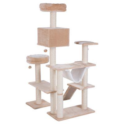 arbre chat maison en pain d 39 pice avec chelle prix. Black Bedroom Furniture Sets. Home Design Ideas