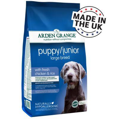 Arden Grange Large Breed Puppy/Junior Pollo & Riso