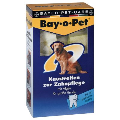 Bay-o-pet strisce da masticare per cani di taglia grande