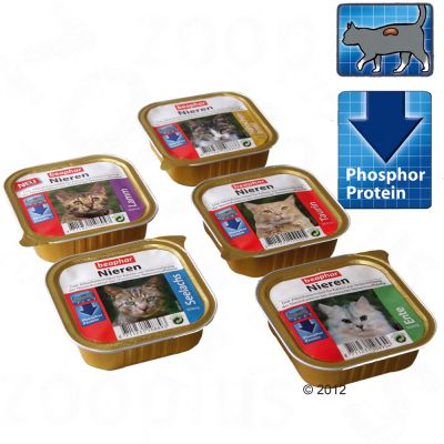 beaphar Renal Diet Mixed Trial Pack 6 x 100g