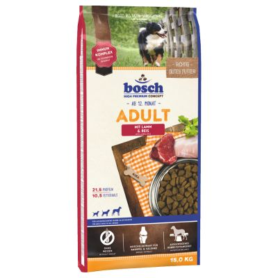 Bosch Adult Lamb & Rice, jagnięcina i ryż