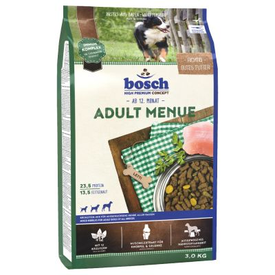 Bosch Adult Menu