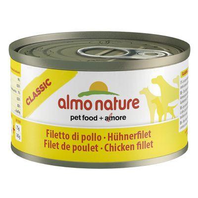 Boîtes Almo Nature HFC 24 x 95 g + jouet Coussin en peluche Dotti offert !