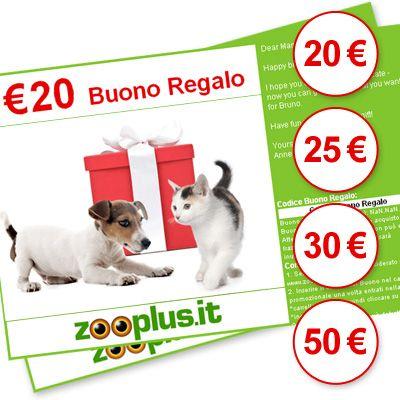 Buono Regalo zooplus
