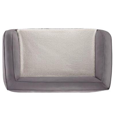 Canapé orthopédique gris pour chien