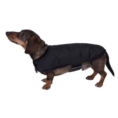 Cappotto trapuntato double-face per cani