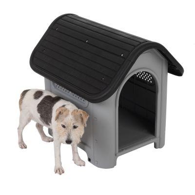 Caseta de plástico Polly para perros