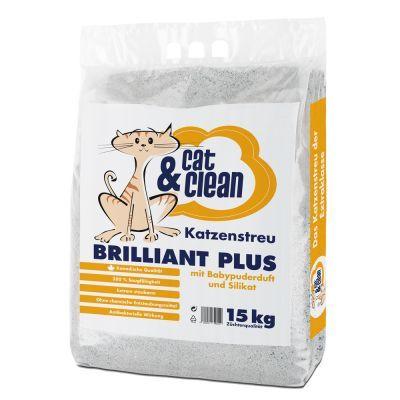 Cat & Clean Brilliant Plus con silicio e borotalco