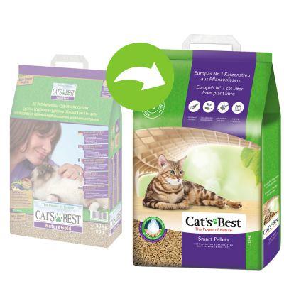 Cat's Best Nature Gold / Smart Pellets kattegrus