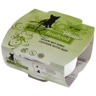 Catz Finefood Mousse Trial Pack 12 x 100g