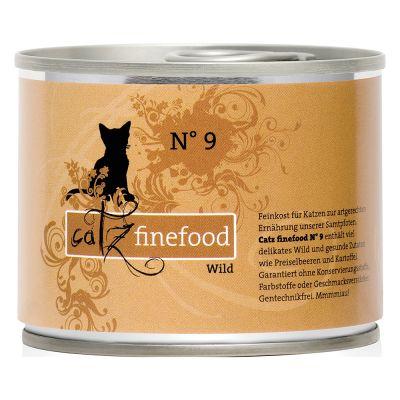 Catz Finefood 6 x 200 g - Pack de prueba