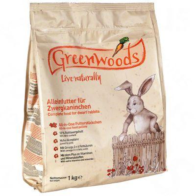 Cibo per conigli nani Greenwoods
