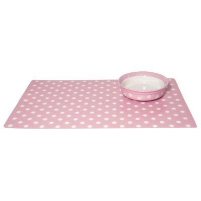Ciotola in ceramica Rosewood pink polka dot