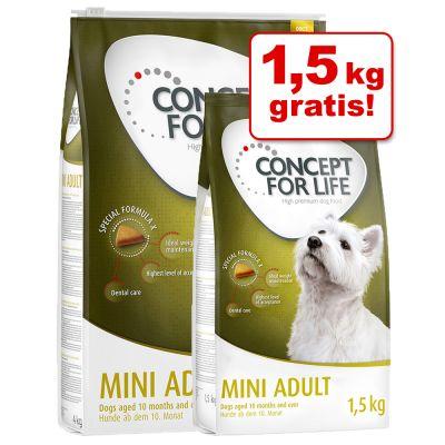 Concept for Life Mini + 1,5 kg gratis!