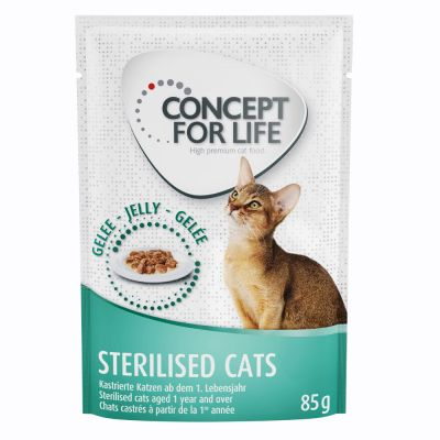 Concept for Life Sterilised Cats - in gelatina