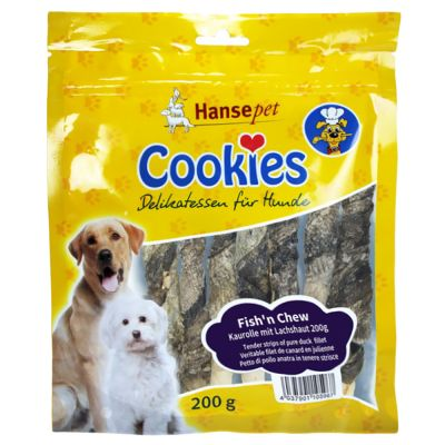 Cookies Delikatess Fish´n Chew - bastoncini con pelle di salmone