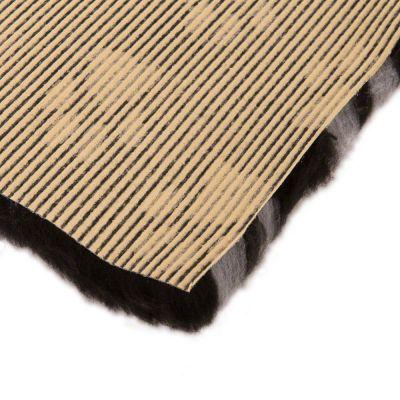 Coperta per gatti Vetbed® Isobed SL Paw, nera/grigia