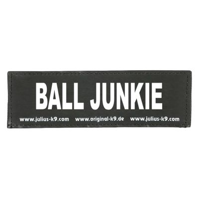Coppia di adesivi Julius-K9 - logo: BALL JUNKIE