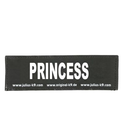 Coppia di adesivi Julius-K9 - logo: PRINCESS