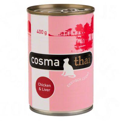 Cosma Thai w galarecie, 6 x 400 g