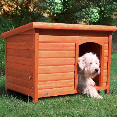 Cuccia per cani Trixie Natura con tetto piatto
