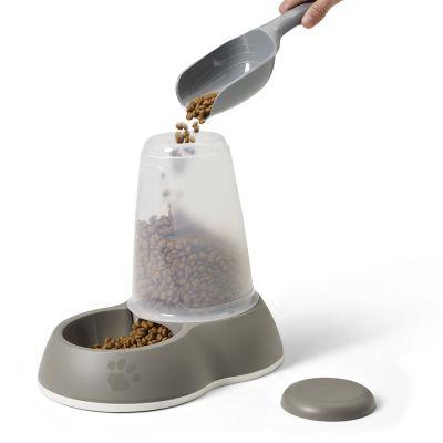 Distributore di cibo Savic Loop - grigio brunastro