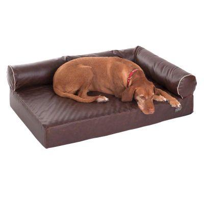 Divan Wellness Dog Sofa - Brown