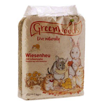 Doppi Punti Fedeltà: 1 kg Fieno di prato Greenwoods