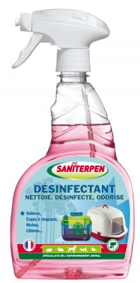 Désinfectant Spray Saniterpen