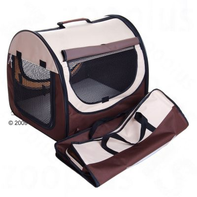 Easy Go Folding Transport Box - Brown / Beige