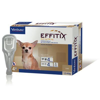 Effitix per cani da 1,5 a 4 kg