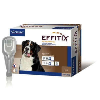 Effitix Spot on per cani