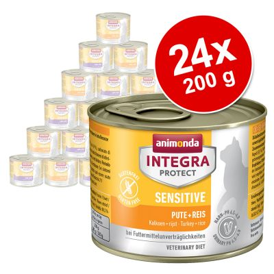 Ekonomično pakiranje: Animonda Integra Protect Adult Sensitive - konzerve 24 x 200 g