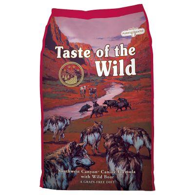 Ekonomipack: 2 x 13 kg Taste of the Wild hundfoder