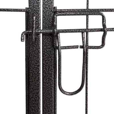 Enclos en métal pour chiot