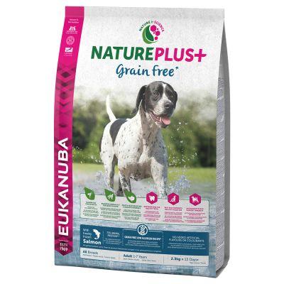Eukanuba NaturePlus+ Grainfree Adult Salmone