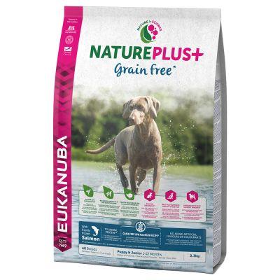 Eukanuba NaturePlus+ Grainfree Puppy Salmone