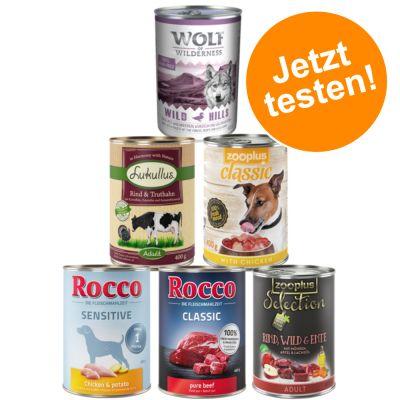 Exklusiver Premium Nassfutter-Mix für Hunde