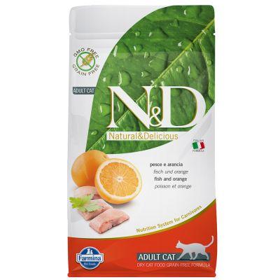 Farmina N&D Grain Free Adult Cat Pesce e Arancia