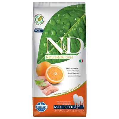 Farmina N&D Grain Free Adult Maxi Pesce e Arancia